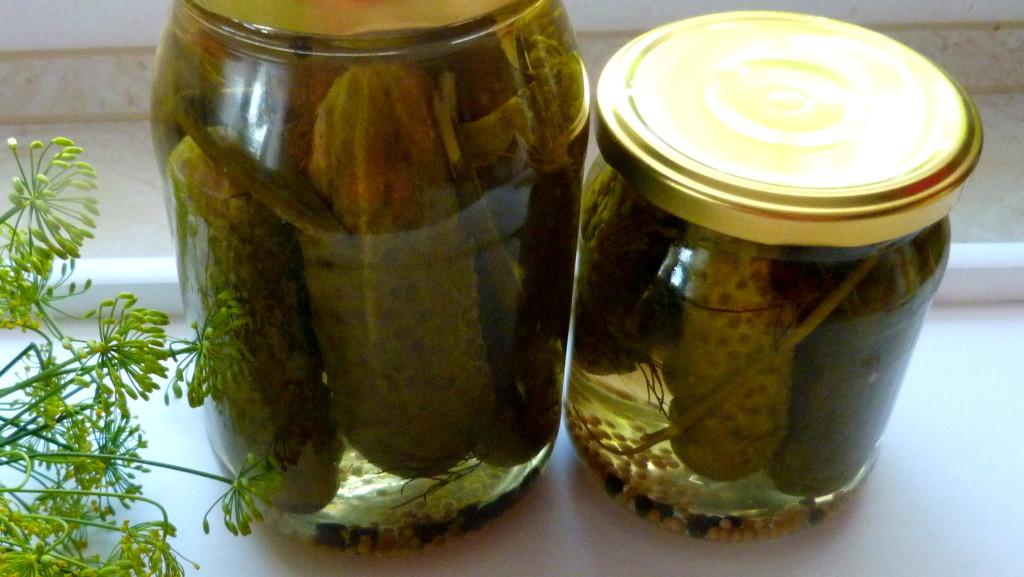 ogórki konserwowe