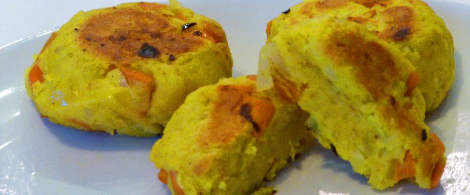 kotlety warzywne z curry